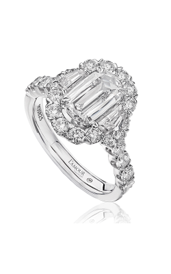 Christopher Designs Engagement ring L141-100 product image