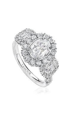 Christopher Designs Engagement ring L533-LOV100 product image