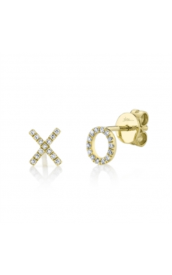 Pave Diamond XO Studs product image