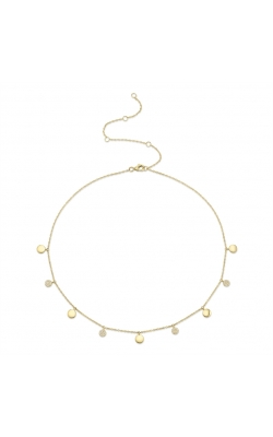 Diamond Pave Disk Necklace product image