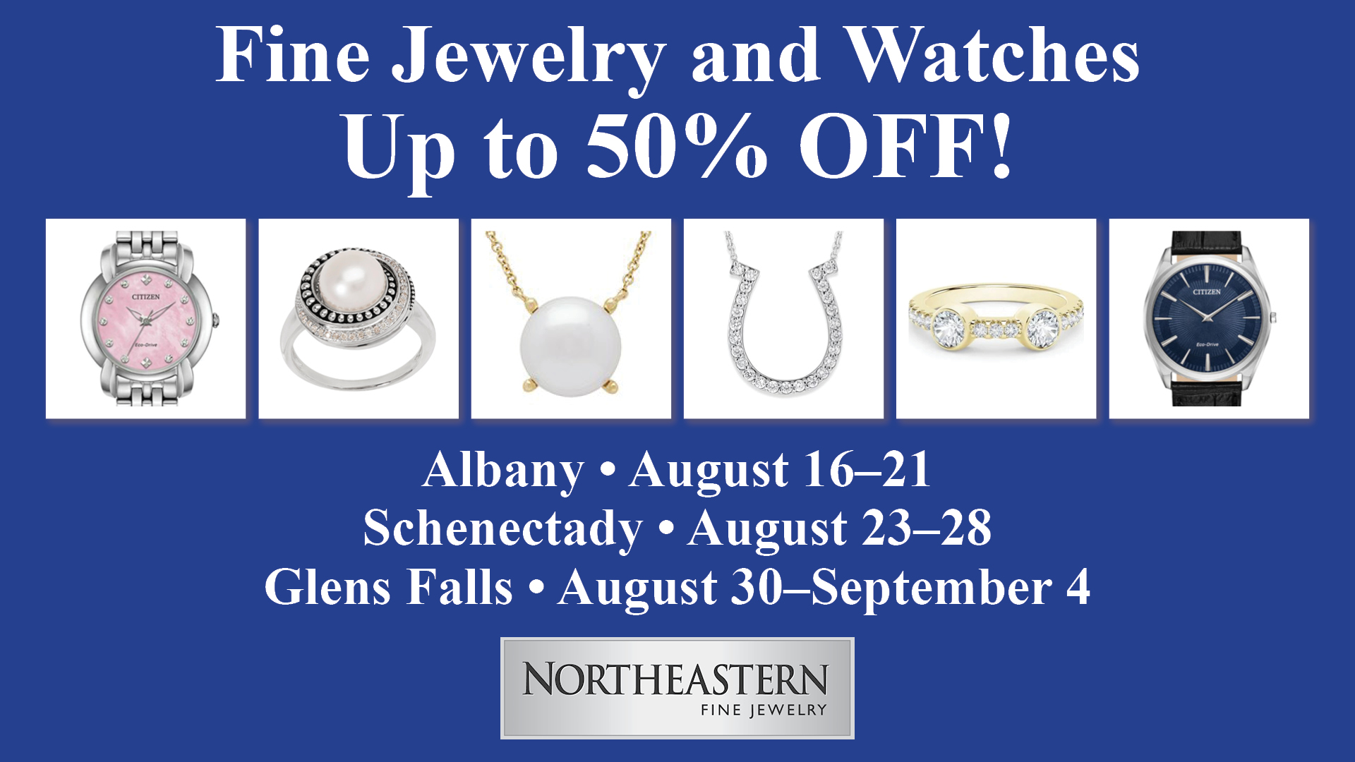 Northeastern Fine Jewelry Announces An End of the Season Summer Sale